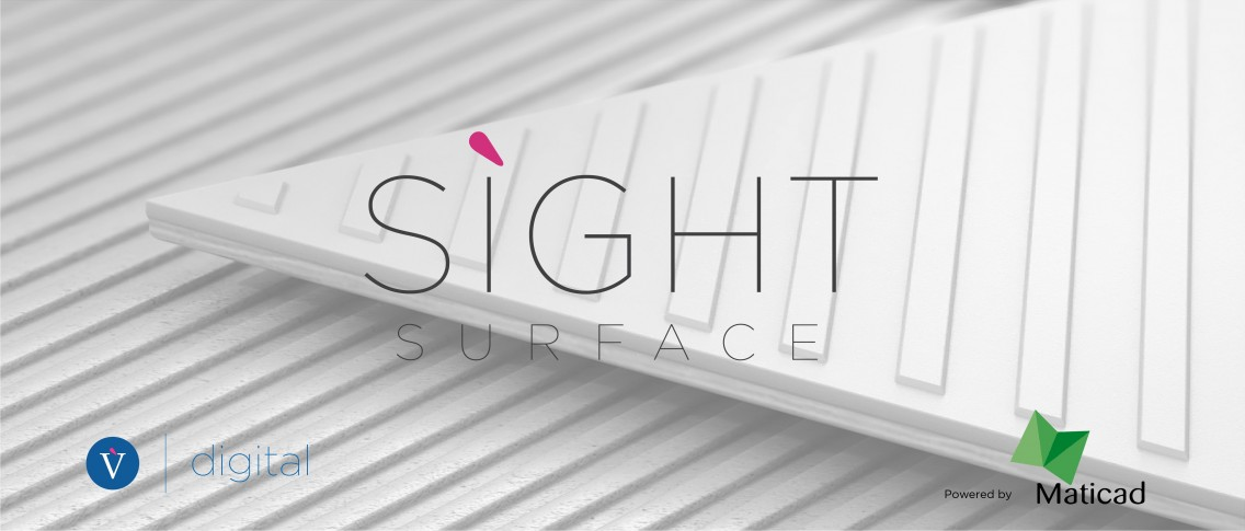 SIGHT also extends to the world of surfaces: SIGHT SURFACE is born