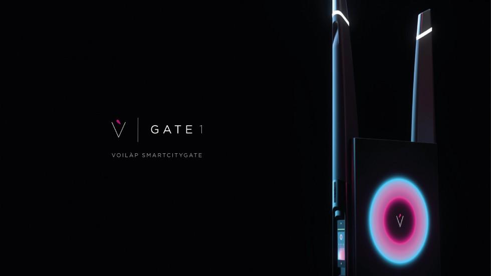 Voilàp presenta Smart City Gate 1  Voilàp